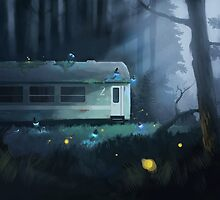 Night Train by wolski