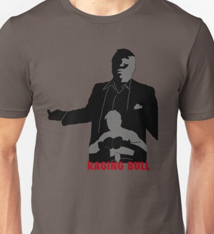 Raging Bull T-Shirt Design Unisex T-Shirt