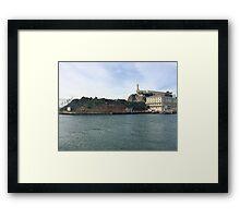 Alcatraz Island- San Francisco  Framed Print
