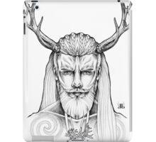 Horned God by Juliana Loomer iPad Case/Skin