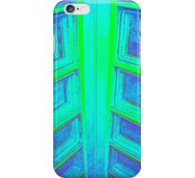 BLUE GREEN ABSTRACT IN AN IPC iPhone Case/Skin