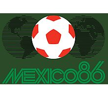 World Cup Mexico 86 Photographic Print