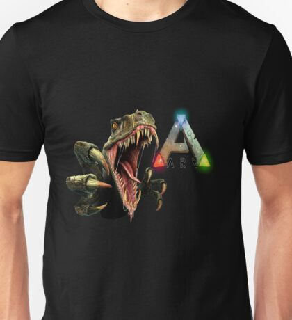 Ark Survival Evolved - Dino Rawr Unisex T-Shirt
