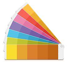 Pantone Palette Photographic Print
