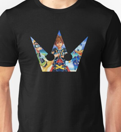 Kingdom Hearts Destiny Crown Unisex T-Shirt
