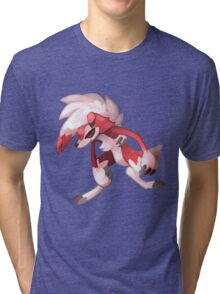 Pokémon - Lycanroc (Midnight Form) Tri-blend T-Shirt