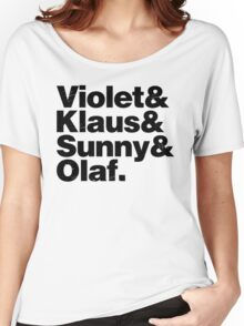 A Series of Unfortunate Names Women's Relaxed Fit T-Shirt