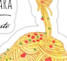 Spaghetti Alla Carbonara Sticker