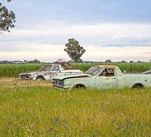 Old Farm Utes...  by mitpjenkeating