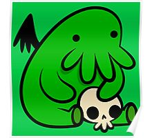 Baby Cthulhu Poster