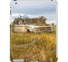 The Classic Old Ford Falcon Ute..... Seen better days.... iPad Case/Skin