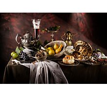 Still Life with Gourds Photographic Print
