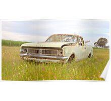 The Old Holden Farm Ute..... Poster
