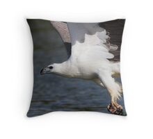 The Eagle Thief Throw Pillow
