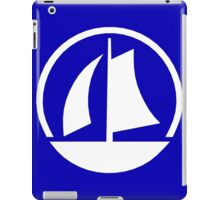 White Yacht iPad Case/Skin