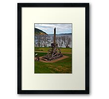 The Trebuchet Framed Print