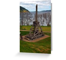The Trebuchet Greeting Card
