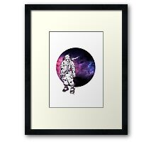 Galaxy Boy Framed Print