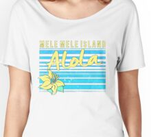 Pokemon Sun and Moon - Mele Mele Island Women's Relaxed Fit T-Shirt
