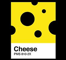 Cheese Pantone by tshirtbaba