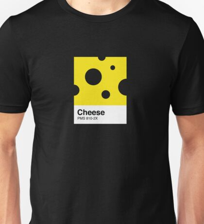 Cheese Pantone Unisex T-Shirt