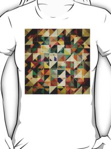 Earth Tones Abstract T-Shirt