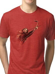 RED MOCKINGJAY Tri-blend T-Shirt