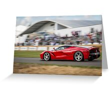 Ferrari LaFerrari   Greeting Card