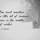 Winter Thoreau by Kimberose
