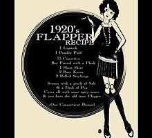 1920s Gatsby Girl Recipe for Flapper  by CecelyBloom