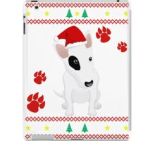 Miniature Bull Terrier ugly sweater Christmas T-shirt and gift iPad Case/Skin