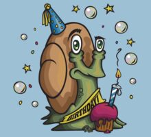 The Birthday Snail T-Shirt