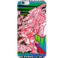 We Like To Make This Look Easy!  - Random Robots Metal For X iPhone Case/Skin
