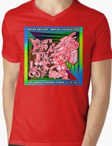 We Like To Make This Look Easy!  - Random Robots Metal For X Mens V-Neck T-Shirt