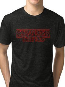 Stranger Things. Tri-blend T-Shirt