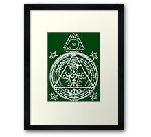 Arcane Circle Framed Print
