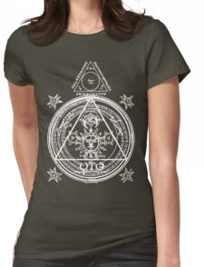 Arcane Circle Womens Fitted T-Shirt