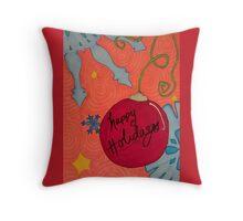 Whimsical Christmas 5 Throw Pillow