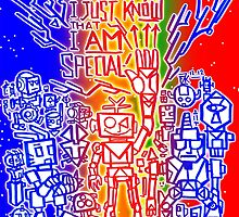 Somehow, I Just Know That I AM Special! - Random Robots Metal For X by VJFranzK