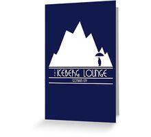 The Iceberg Lounge - Gotham Greeting Card