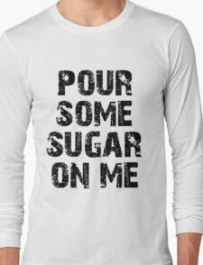 def leppard black Long Sleeve T-Shirt