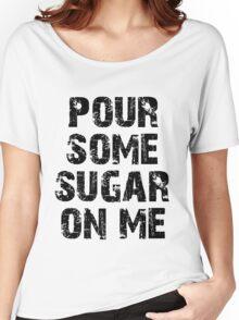 def leppard black Women's Relaxed Fit T-Shirt