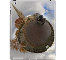 St Columb's Cathedral from Derry's Walls at Church Bastion, Derry iPad Case/Skin