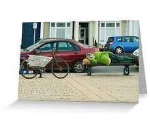 Limited Parking Greeting Card