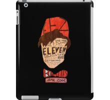 Eleventh Doctor Shirt iPad Case/Skin