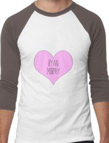 ryan murphy scream queens glee american horror story ahs Men's Baseball ¾ T-Shirt