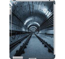 Deep metro tunnel under construction iPad Case/Skin