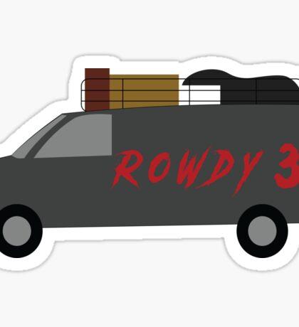 Rowdy 3 Sticker