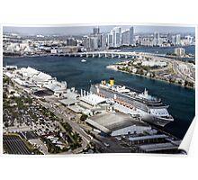 Miami: Cruise Ship Poster