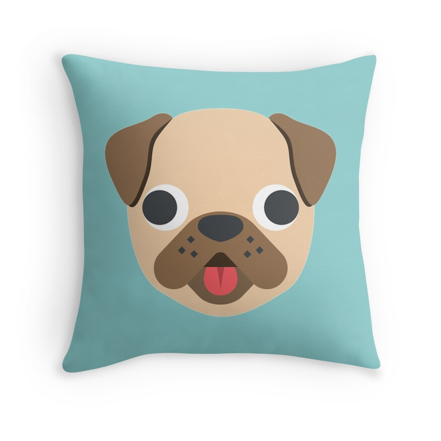Poop Emoji Throw Pillow : Poop Emoji: Throw Pillows Redbubble
